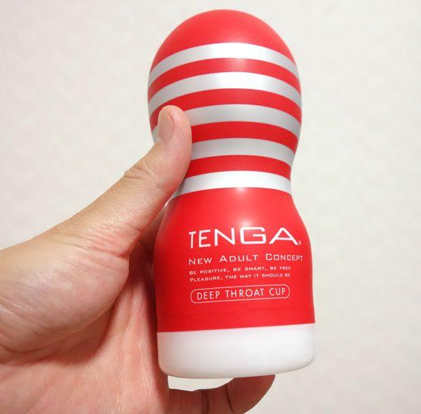 TENGA ディープスロート・カップの外観